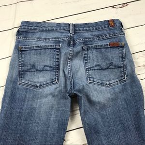 Women's 7 For All Mankind Size 28 Boy Cut Jeans